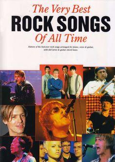 Partituras para piano de The Very Best Rock Songs Of All Time en pdf para descargar gratis