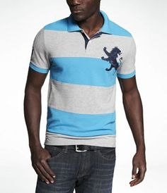 Shop the latest trends in women's and men's clothing at Express! Find your favorite jeans, sweaters, dresses, suits, coats and more. Love Fashion, Mens Fashion, Polo Shirts, Rugby, Latest Trends, Lion, Suits, Clothes For Women, Reading