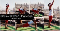 30 Day Burpee Challenge