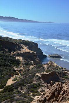 Torrey Pines Hike, San Diego California