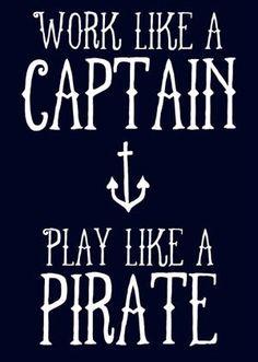 Like a freakin Pirate