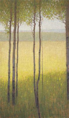 David Grossmann, From Inside of an Aspen Grove Tree Artwork, Landscape Artwork, Abstract Art, Abstract Paintings, Painting Art, Watercolor Painting, Artist Art, New Art, Art Photography
