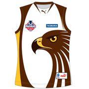 Hawks away guernsey. Australian Football League, Guernsey, Winter Sports, Hawks, Eagles, Club, Peregrine, Eagle, Winter Sport