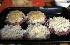 """Delicious mince casserole for """"lazy"""" housewives Ground Beef, Nutella, Casserole, Pork, Food And Drink, Rice, Cooking Recipes, Snacks, Meals"""
