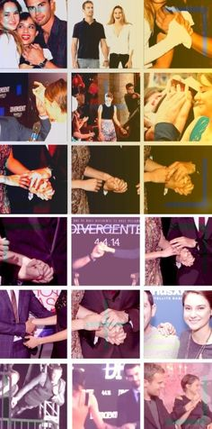 Sheo holding hands :D