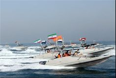 An updated photo of Iranian Revolutionary Guard Corps Navy patrol vessels. FARS News Photo