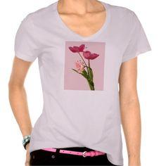 Artistic Tulips T-shirts