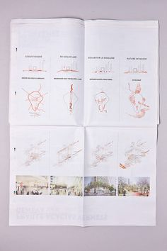 HHF Architects, Basel – Paper No 2 by Gian Besset, via Behance