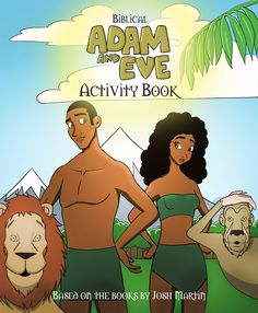 Based on the books by Josh Martin. Adam And Eve, Book Activities, Disney Characters, Fictional Characters, Books, Adam An Eve, Libros, Book, Fantasy Characters