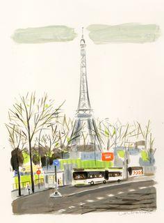Paris Tour Effiel // Dominique Corbasson