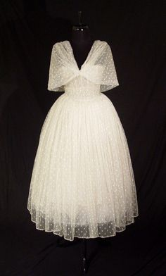 Christian Dior Haute Couture Gown 1957 Vintage Dior Paris Couture Dress