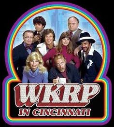 70 S TV Shows | 70's Classic TV Show WKRP in Cincinnati The Gang Custom Tee Any Size ...