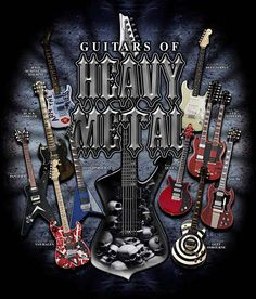 Heavy Metal Guitars