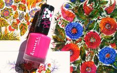 KireiKana: Лак для нігтів Rimmel Rita Ora 322 Neon fest nail polish