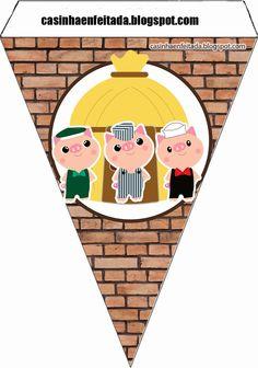 Casinha de Criança: Kit Festa 3 Porquinhos Para Imprimir Grátis