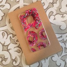 DONUT IPhone 6+ Case The cutest donut iPhone 6+ case!!!! I have never gotten so many compliments on a donut case in my life I did drop it while using it (my phone never cracked) so there is one minor break by the buttons. (See picture #4) Feed Me Cases Accessories Phone Cases