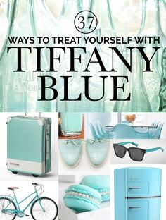 37 Ways To Treat Yourself With Tiffany Blue. I've got the Converse! All I need is the matching Bentley!