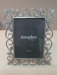 Amadeo tinnen fotolijst