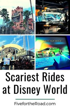 Scariest Rides at Disney World and How to Prepare Your Kids | List of rides at Disney World that are scary and how to help plan your Disney vacation. Read more at FivefortheRoad.com. Disney Cruise Tips, Disneyland Tips, Disney Travel, Disney World Tickets, Walt Disney World Vacations, Scary Kids, Tower Of Terror, Disney World Tips And Tricks, Universal Studios