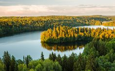 To mark 150 years since the composer Jean Sibelius's birth, Harriet O'Brien   seeks out the Finnish landscapes that inspired him