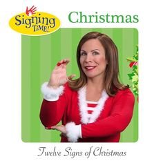 get great deals on our baby sign language products including baby signingtime signingtime and rachel and the treeschoolers today - Asl Christmas