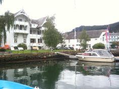 Sandven Hotel i Norheimsund, Norway