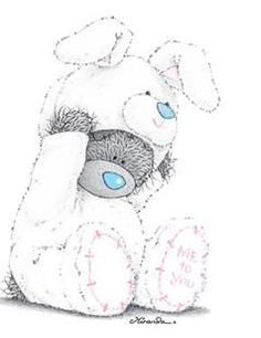 tatty teddy my blue nose friends Teddy Images, Teddy Pictures, Bear Pictures, Cute Images, Cute Pictures, Tatty Teddy, Blue Nose Friends, Art D'ours, Bear Illustration