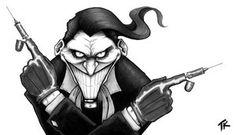 The Joker - markers by Ripplen