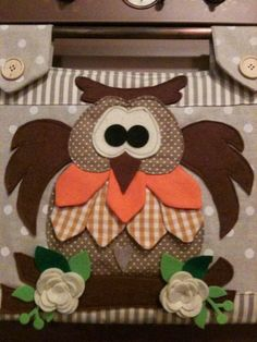 Kitchen Towels Crafts, Towel Crafts, Owl Sewing, Owl Fabric, Felt Owls, Crafts For Seniors, Cat Quilt, Herd, Sewing Appliques