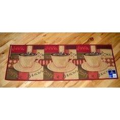 Coffee Kitchen Rugs | Red Coffee Mocha Cafe Tapestry Kitchen Rug Runner  28x37 | EBay | Favorite Places And Spaces | Pinterest | Tapestry, Cafes And  Kitchens