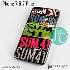 Sum 41 Phone case for iPhone 7 and 7 Plus