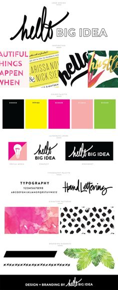Graphic + Brand Design —by Hello Big Idea