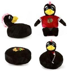 Chicago Blackhawks NHL Puck Reverse-a-Pal....NEED IT.