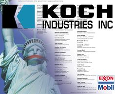 """Koch Brothers Continue to Fund Climate Change Denial Machine, Spend $21M to Defend Exxon 
