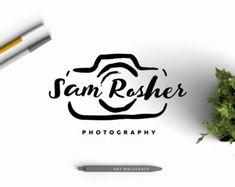 Photography logo Premade Photography Logo Design by artWallgrays