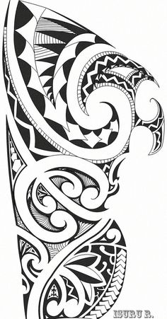 For back maori tattoos, tatoo, maori designs. Maori Tattoos, Maori Tattoo Meanings, Tribal Armband Tattoo, Polynesian Tattoos Women, Tribal Shoulder Tattoos, Polynesian Tattoo Designs, Polynesian Art, Tribal Sleeve Tattoos, Marquesan Tattoos