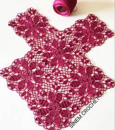 Crochet Squares, Crochet Granny, Crochet Motif, Crochet Doilies, Knit Crochet, Crochet Jacket, Crochet Blouse, Baby Knitting Patterns, Crochet Patterns