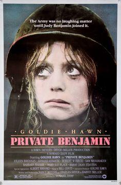 goldie hawn private benjamin -