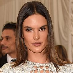 The supermodel Alessandra Ambrosio wearing The Uptown Girl look makeup at the Met Gala. Products used: Magic Cream Magic Eye Resue, Wonderglow, Magic Foundation, Miracle Wand, my Luxury Palette in The Uptown Girl, Full Fat Lashes, Filmstar Bronze And Glow, #BeachStick in Fomentera and Matte Revolution lipstick in Very Victoria with Lip Cheat liner in Iconic Nude. Makeup by Carolina Gonzalez  for Charlotte Tilbury.