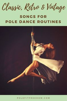 A collection of classic, retro & vintage songs for pole dancing routines to give you inspiration and ideas for your next performance/routine Pole Classes, Belly Dancing Classes, Pole Dance Fitness, Fitness Music, Fitness Fun, Fitness Motivation, Weight Routine, Pole Dancing Clothes, Pole Dance Moves