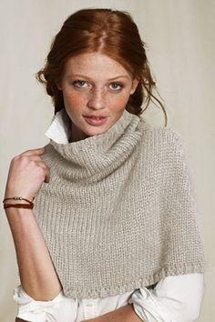pretty capelet, pretty face. by SammyA #knitting