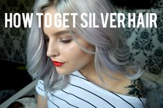 How to get silver hair | Chloe Graham