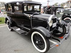 1929 Ford Modell A Limousine Vintage Cars, Antique Cars, Vintage Ideas, Retro Cars, Vintage Photos, Lifted Ford Trucks, Old Trucks, Ford Motor Company, Ford Lincoln Mercury