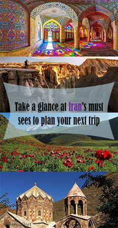 Do you want to plan your next trip to Iran? Take a glance at Iran's must-see attractions and decide!   #RediscoverIran #PersiaPort #Iran #Travel #tour