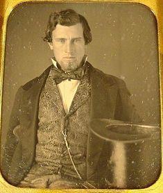 Patterned vest, late 1840s-early 1850s. Courtesy Charles R. Lemons.