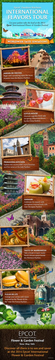 Epcot Outdoor Kitchens at International Flower & Garden Festival! Amy Pyc-AAA Magic Creator 716-775-7022