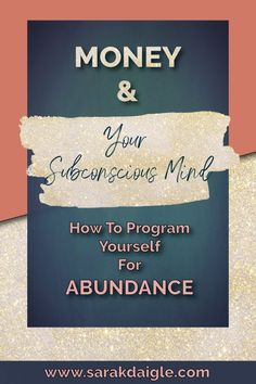 Money and Your Subconscious Mind How to Program Yourself For Abundance is a great guide to help you with your business and career. This guide spells out how to manifest money and abundance. Subconscious Mind Power, Spiritual Development, Personal Development, Law Of Attraction Affirmations, Law Of Attraction Tips, Feeling Stuck, How To Manifest, Thought Process, Positive Mindset