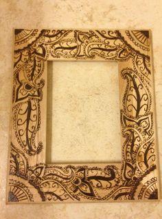 Wood Burning Frame