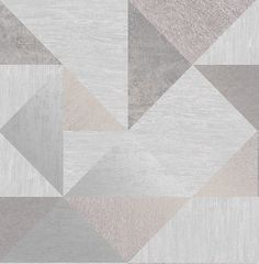 Fine Décor Melrose Grey Geometric Metallic effect Smooth Wallpaper - B&Q for all your home and garden supplies and advice on all the latest DIY trends