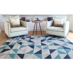 Shop for Milo Beige/Grey/Teal Area Rug by Greyson Living (5'3 x 7'6). Get free shipping at Overstock.com - Your Online Home Decor Outlet Store! Get 5% in rewards with Club O! - 21340219